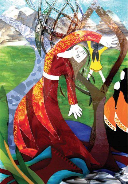 Artwork commemorates the life of Irene McCormack at Catholic College