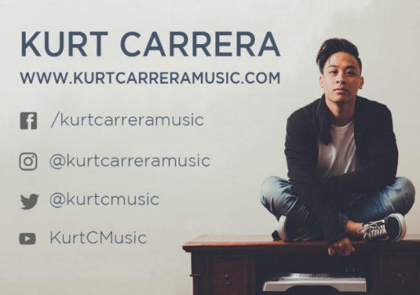 Irene McCormack graduate, Kurt Carrera, launches Debut EP