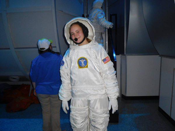 CEWA students - astronauts in the making!