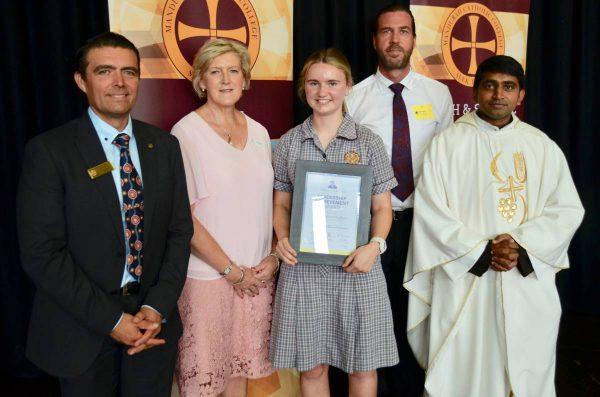 MCC student awarded Fr James Wall Bursary Award