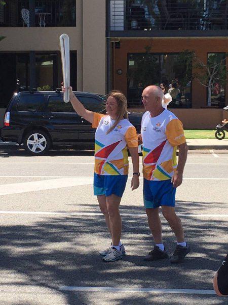 CEWA educators carry Queen's Baton in Commonwealth relay