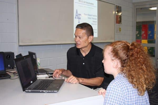 St Joseph's Northam students helping keep astronauts safe