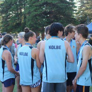 Kolbe students tackle multi-discipline event