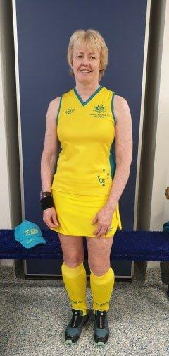 JPC teacher fulfils lifelong dream to weargreen andgold