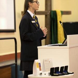 Student orators deliver messages of faith
