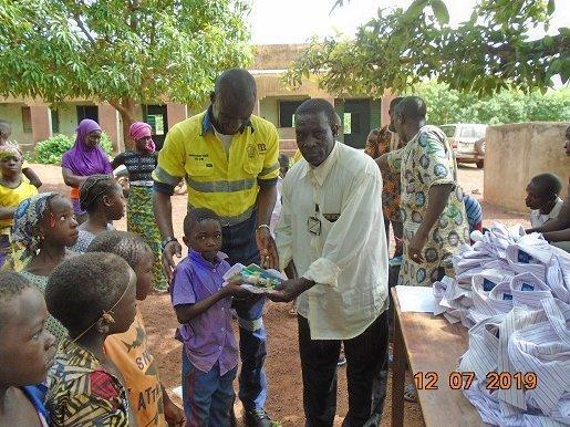 UFCC uniforms find new life in Mali