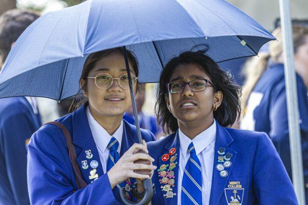 Rain fails to dampen spirits at Carnevale