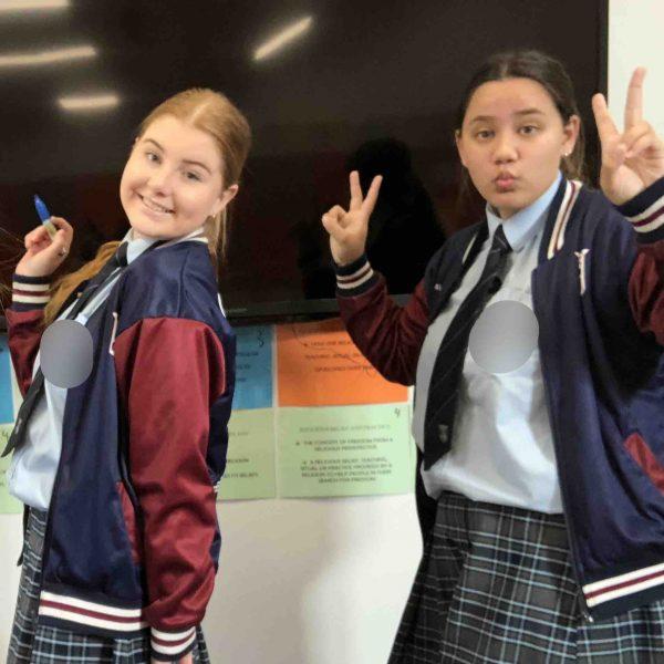 JPC girls choose volunteering over Leavers'