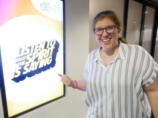 Storyteller Katie shares her message of faith