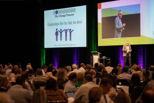 CEWA system improvement initiative with Michael Fullan begins at Leaders' Forum