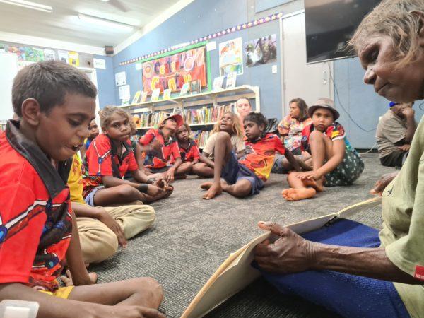 Luurnpa Catholic School celebrates Indigenous Literacy Day